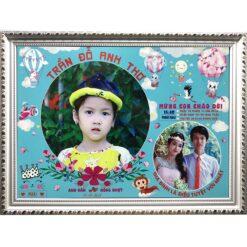 khung ảnh 12 tháng cho bé yêu