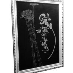 thư pháp phật giáo hay tranh thư pháp trịnh công sơn