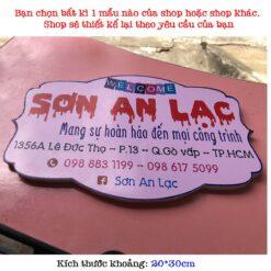 bảng hiệu bán hàng online giá rẻ