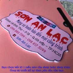 bảng hiệu tên shop bán hàng online