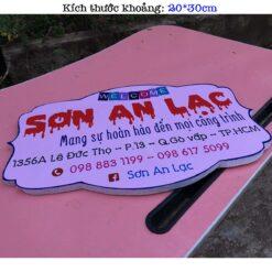 biển hiệu tên shop bán hàng online giá rẻ